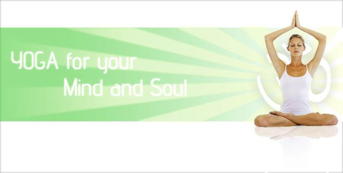 YOGA site banner by UniDesignStudio