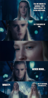 The Lord of the Rings - Galadriel's secrets... by yourparodies