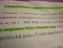Czech Literature by PhotoElizabeth