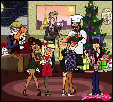 Christmas Party by Galactic-Red-Beauty
