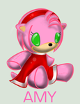 Plushie Collection: Amy Rose by Omnicenos