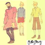 tintin doodles by quuurl