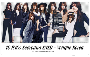 [Render Pack] SooYoung SNSD for VK - 10 PNGs by jemmy2000