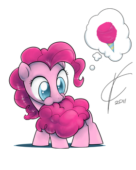 Cotton Candy Tail by Dreatos