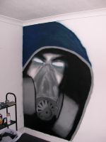 HOODY GUY WALL PIECE by exell
