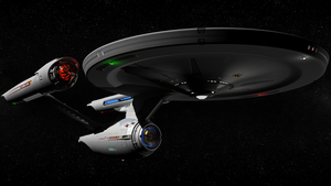 Star Trek Constitution Class Re-imagined 1080p by hermond