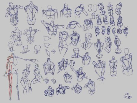Sketches by mary3m