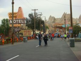 Here's Radiator Springs at Disney Cars Land by Magic-Kristina-KW