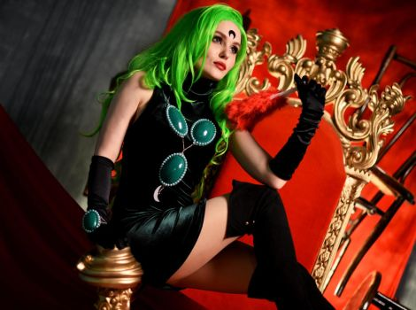 Green Esmeraude by BazingaCosplay