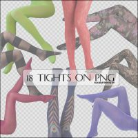 18 Tights on Png. by mylightbluesky