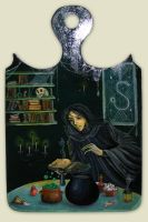 Severus Snape in the Kitchen by DoodleDuo