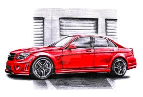 Mercedes Benz C63 AMG by Arek-OGF