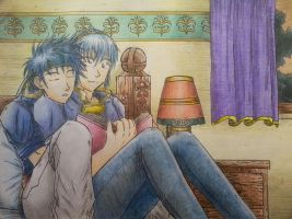 Just a bit sleepy by Marth-the-Fabulous