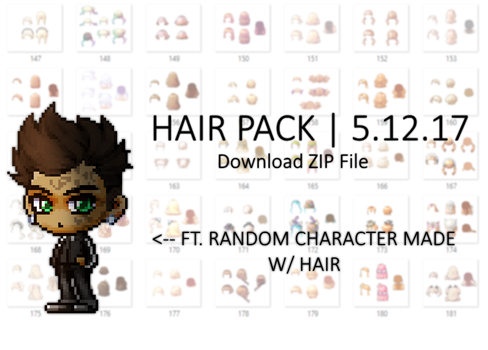 F2U | Hair Pack [5.12.17] by Fluffycloudkit