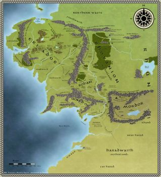 Middle Earth by Eowyn-Saule
