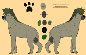 Marula ref sheet by VeganEmpress
