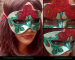June's Birth Flower Mask by Angelic-Artisan