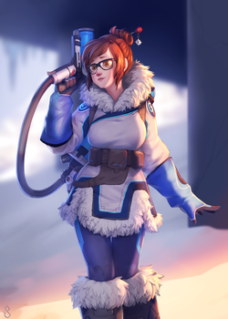Mei (Overwatch) by Saige199