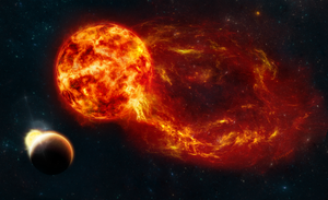 Solar Flare by melissasoup