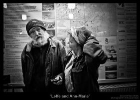 Leffe and Ann-Marie by MrColon