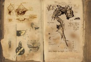 grimoire page ii by hesir