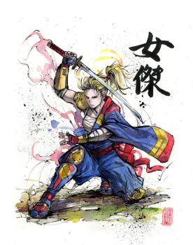 Captain Marvel Samurai by MyCKs