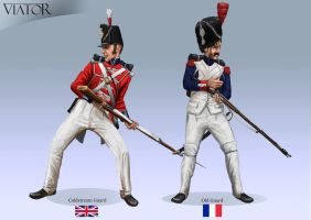 Coldstream Guard and Old Guard by RobbieMcSweeney