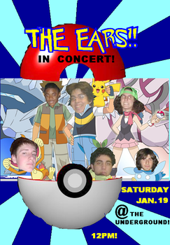 The Ears Pokemon Flyer by Genius-Rude
