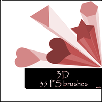3D brushes by szuia