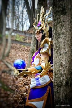 Master Skin Li-Ming from Heroes of the Storm by Sylvenix