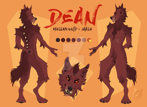 Dean Reference Sheet by Feralsoul804