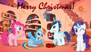 Hearth's Warming Visit by ThunderElemental