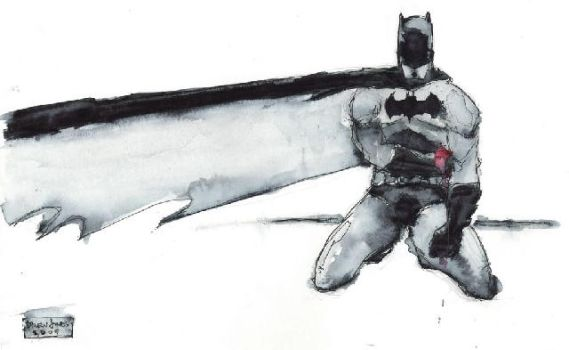 Batman: Wounded by drewtjones