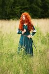 Pixar's Brave: Merida I by Knightess-Rouge