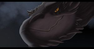 Smaug Descends Upon Laketown by RobtheHoopedChipmunk
