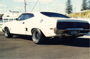 The Past Went Fast..1978 XC Falcon Coupe by RivieraVisual