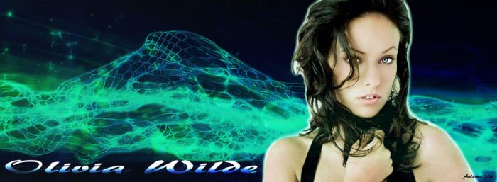 Olivia Wilde Background by Automaticize