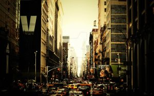 The Streets of New York by martynesku
