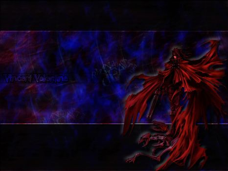 Vincent Valentine Wallpaper. by Brendeth