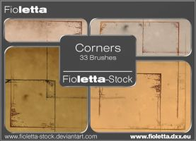 Corners Brushes by fioletta-stock