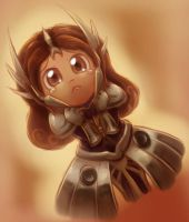 Leona the Sad Dawn by The-Padded-Room
