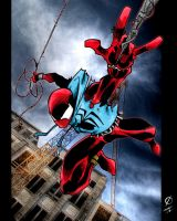 Scarlet-Spider by funerius