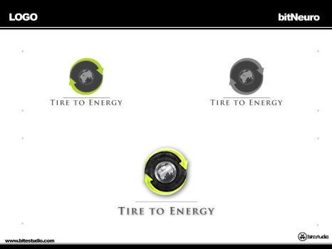 Logo Tire to Energy by bitneuro