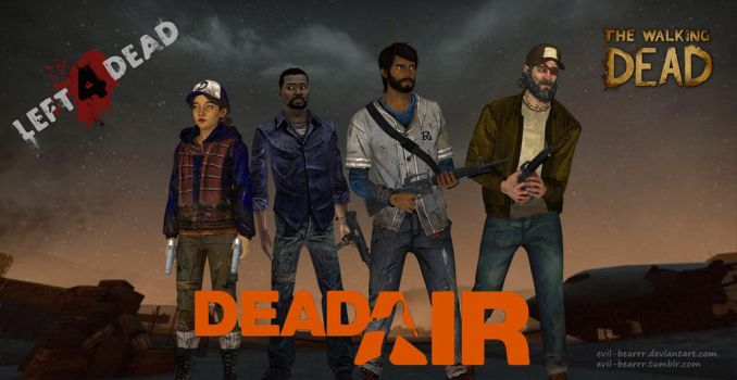 Dead Air (TWD and L4D crossover) by evil-bearrr