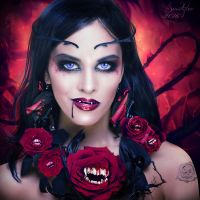 The dark side of the roses by Sweetlylou