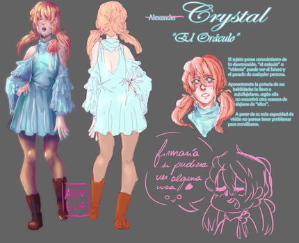 Character -Crystal- by Abuela-chan