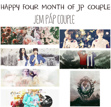 Happy four month of JP Couple by PapCucheo