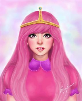 Princess Bubblegum by MonicaRegalario