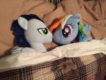 Soarin' and Dash in Bed by CinemaBrony