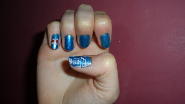 Dr Who Nails - 1 by Cooldawg